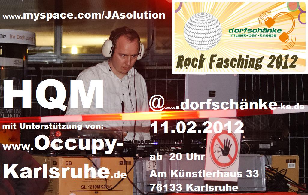 Dorfschänke Karlsruhe » Blog Archive » HQM @ dorfschänke dj … rock ...