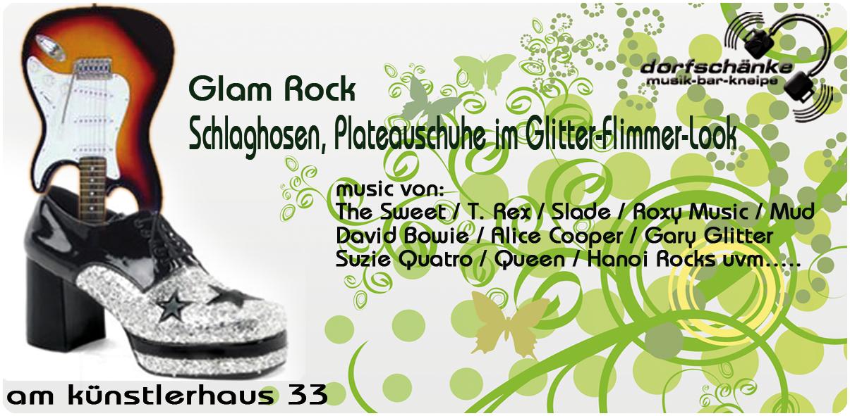 Dorfschänke Karlsruhe » Blog Archive » Glam-Rock Party …… DJ stone(d)